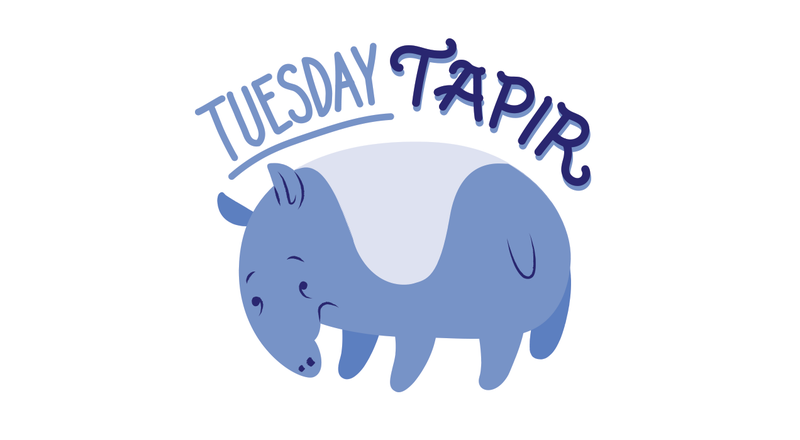 Illustration for article titled Tuesday Tapir