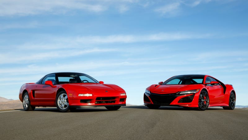 Illustration for article titled Here's A Ton Of Archive Photos And Fun Facts For The Acura NSX's 30th Birthday