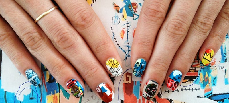 Illustration for article titled You Could Learn Art History From These Amazing Manicures