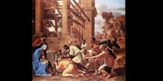 Adoration of the Magi,Nicolas Poussin, 1633Public domain
