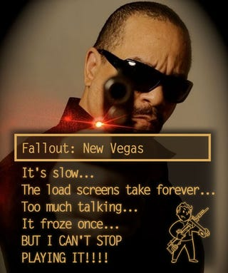 Illustration for article titled You're Not the Only One Surviving Those Fallout: New Vegas Bugs