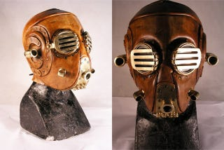 Illustration for article titled Steampunk Soviet Gas Mask Looks Like That Nazi From Hellboy 1