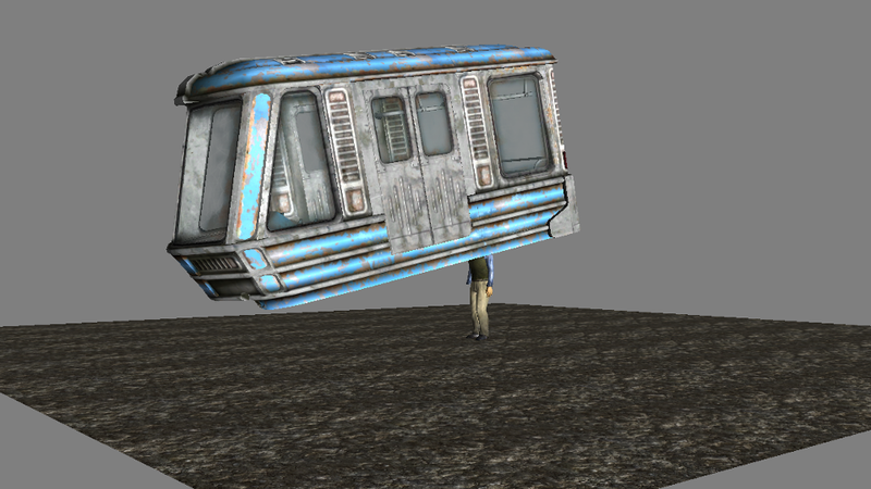 Illustration for article titled Years Later, Fans Discover The Strange Truth About Fallout 3's Trains