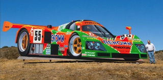 Illustration for article titled new giant mural at Laguna Seca