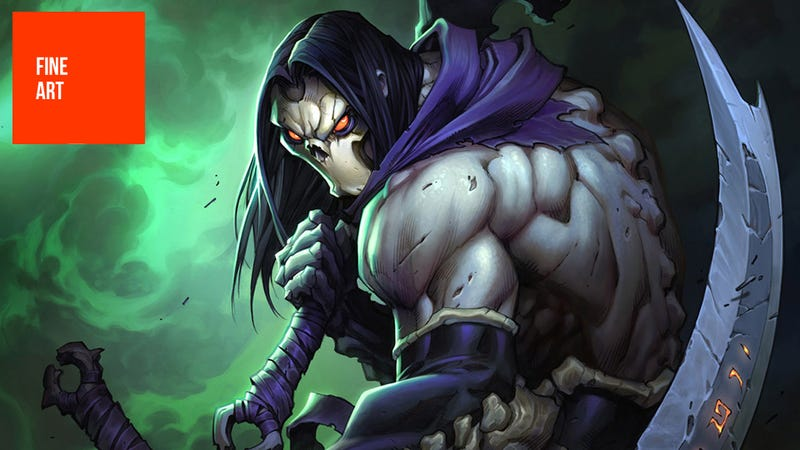 Illustration for article titled The Art of Darksiders II