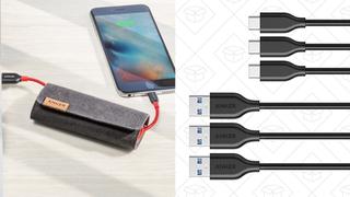 Pack de 2 cables Anker PowerLine+ | $22 | AmazonPack de 3 cables Anker PowerLine USB 3.0 a USB-C | $11 | Amazon | Usa el código ANKER863