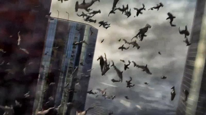Illustration for article titled Syfy developing Sharknado 3, other projects that don't involve Sharknadoes