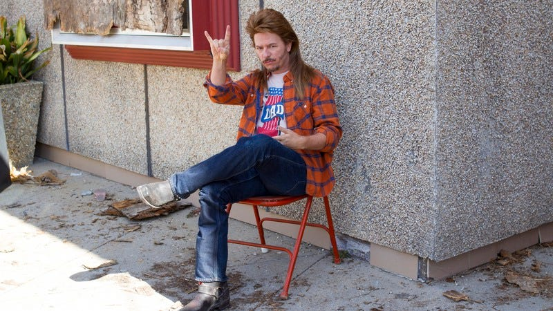 Illustration for article titled The only thing funny about Joe Dirt 2 is that it exists