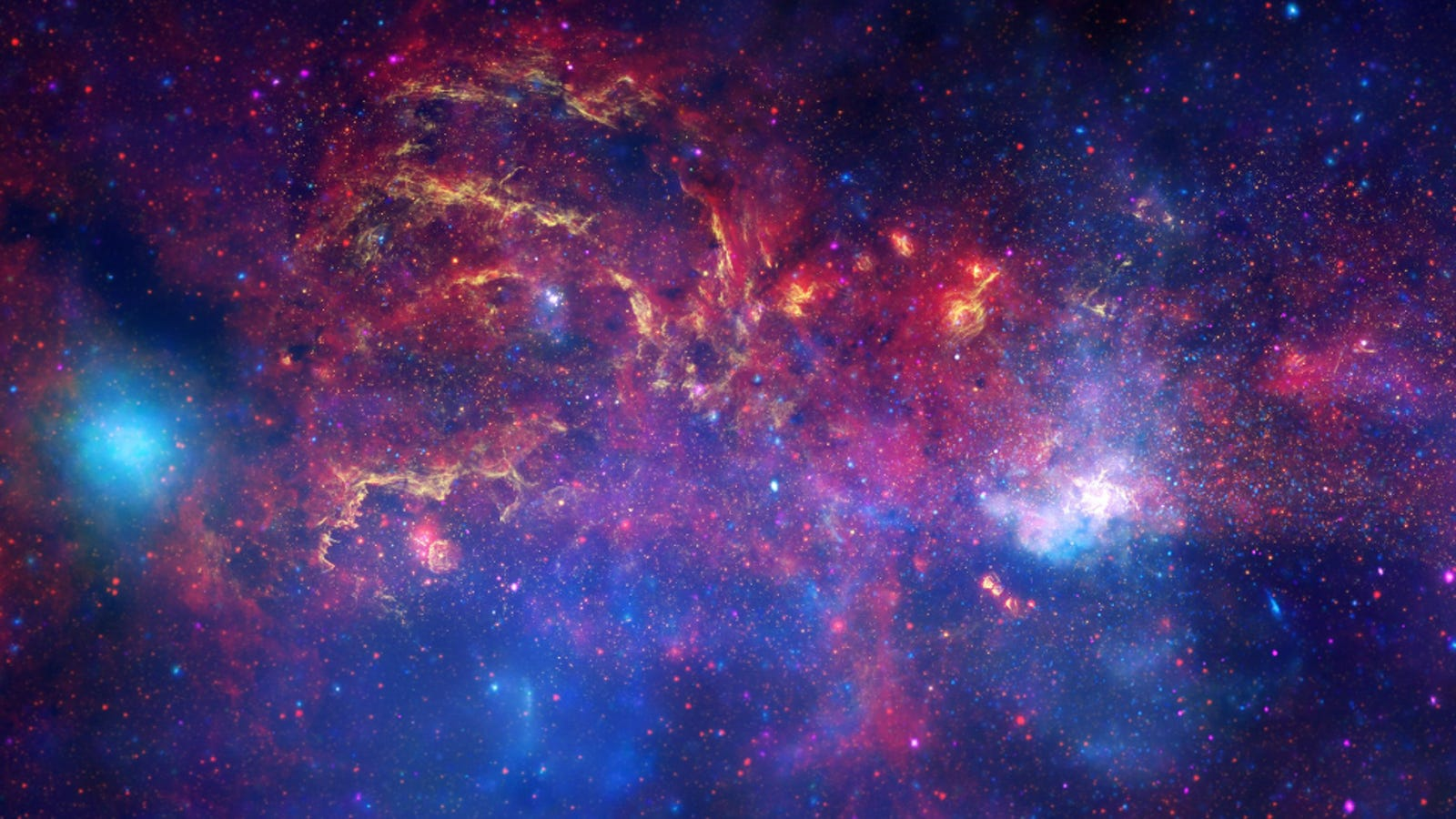 Astronomers have found a desert region on the edge of the universe 15