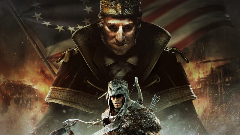 Illustration for article titled Assassin's Creed III's Evil George Washington DLC Comes Out on Feb. 19