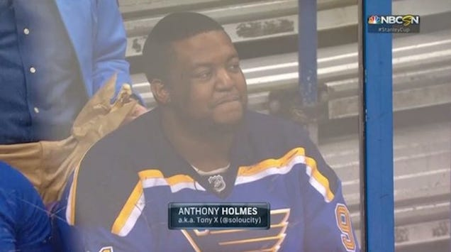 Man Who Discovered Hockey Attends Hockey Game, Loves It