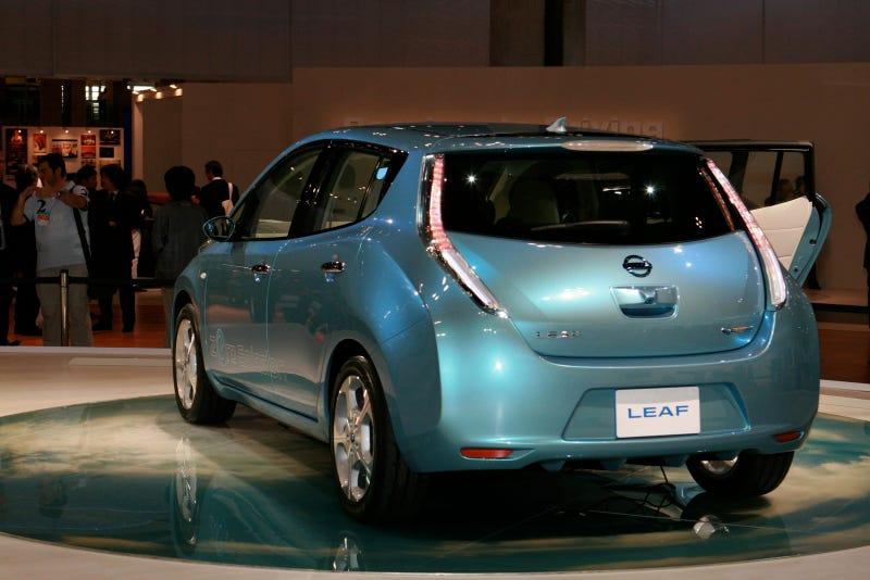 Illustration for article titled Nissan Leaf EV Electric Car