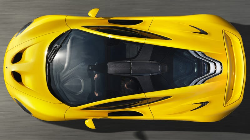 Illustration for article titled Everything You Need To Know About The $1.3 Million McLaren P1