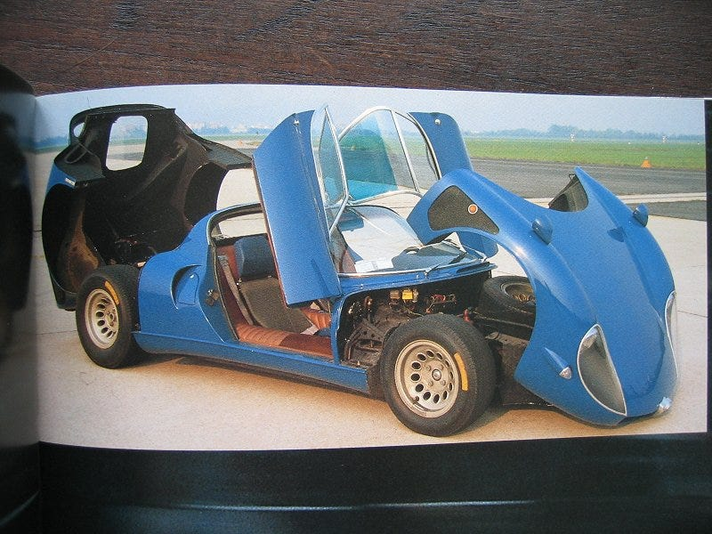 Illustration for article titled Everyone know the 33 Stradale?