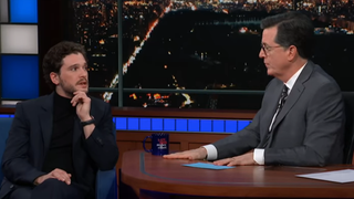Kit Harington, Stephen Colbert