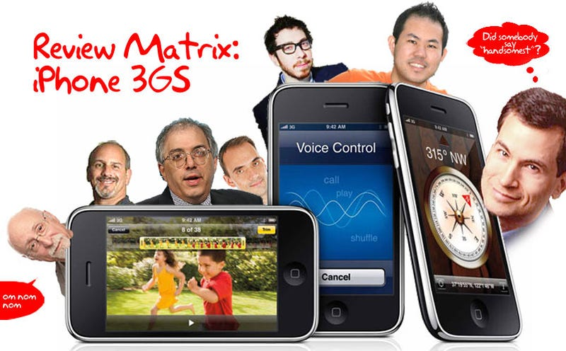 Illustration for article titled iPhone 3GS Review Matrix: What Everybody's Saying