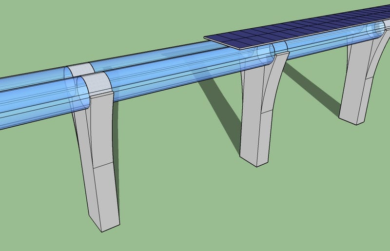 Illustration for article titled Nevada Is Getting a Hyperloop Test Track