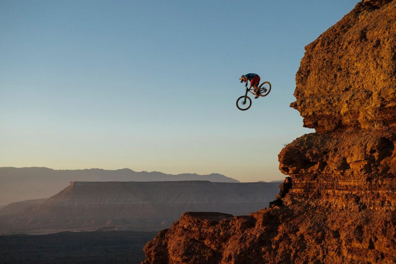 Illustration for article titled PSA: Red Bull Rampage is tomorrow!!