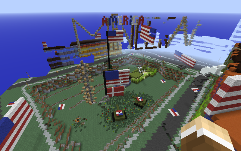 Illustration for article titled American Tanks And Dynamite Have Trashed Minecraft Denmark