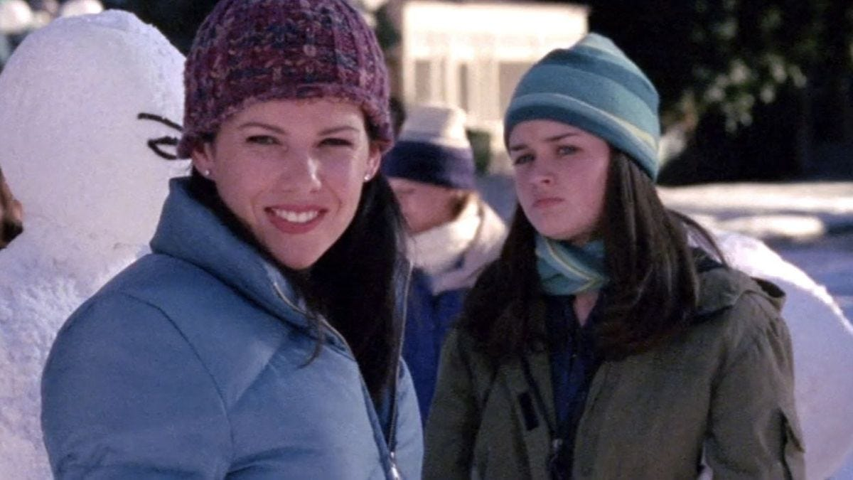 8a7023d59d2096 Here are all the hats Lorelai and Rory wore on Gilmore Girls