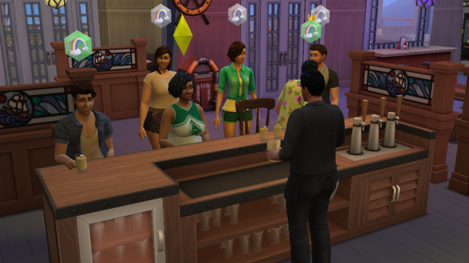 You Can't Keep Sims Sober