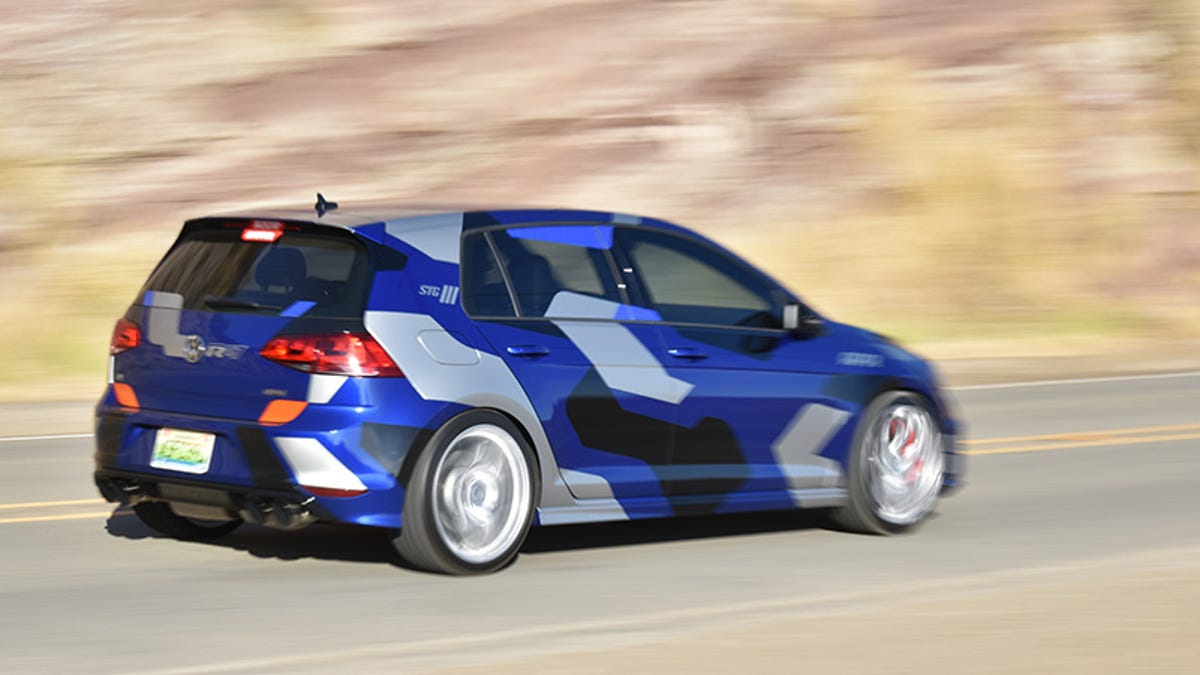 I Drove A 470 HP Volkswagen Golf R With $18,000 In Mods And