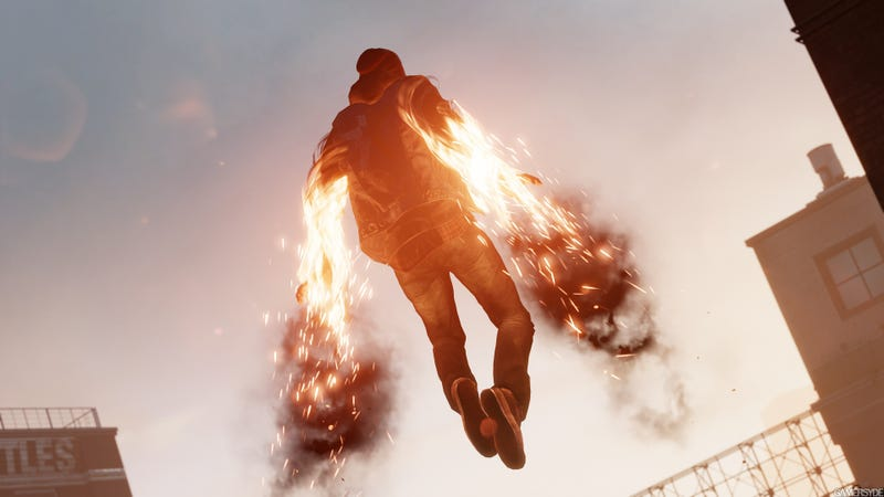 Illustration for article titled Infamous: second Son is oh so beautiful...