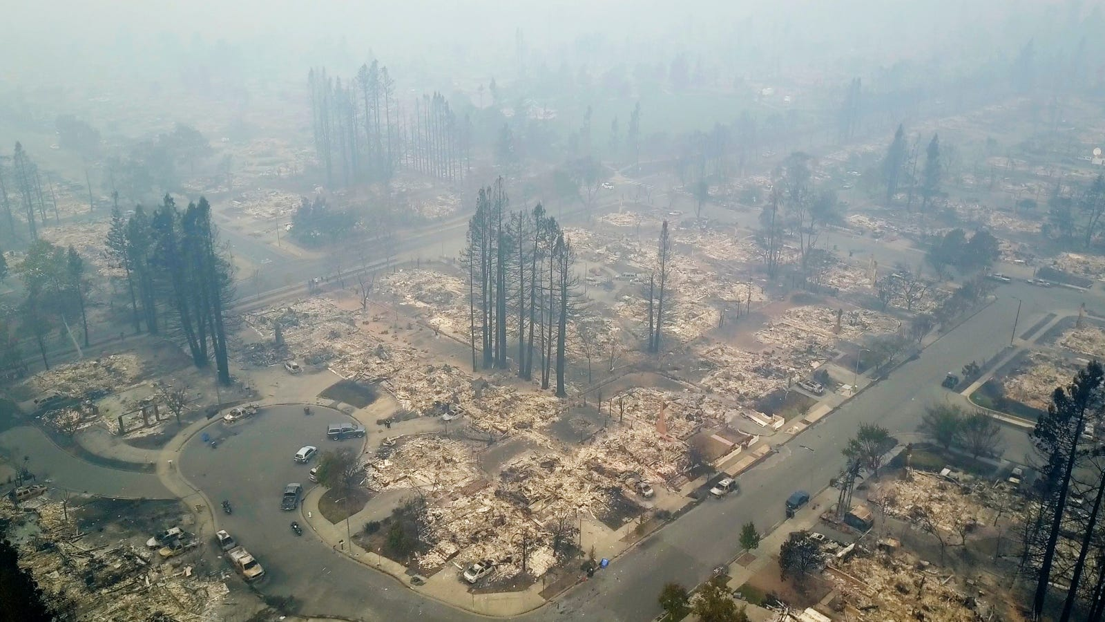Why This Week's Northern California Fires Have Been So Brutal