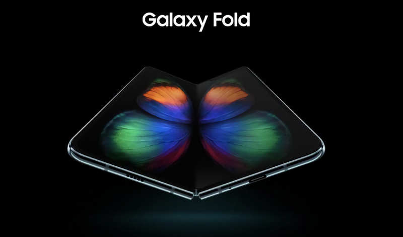 Illustration for article titled Se filtran más imágenes del smartphone flexible Galaxy Fold apenas horas antes de su lanzamiento