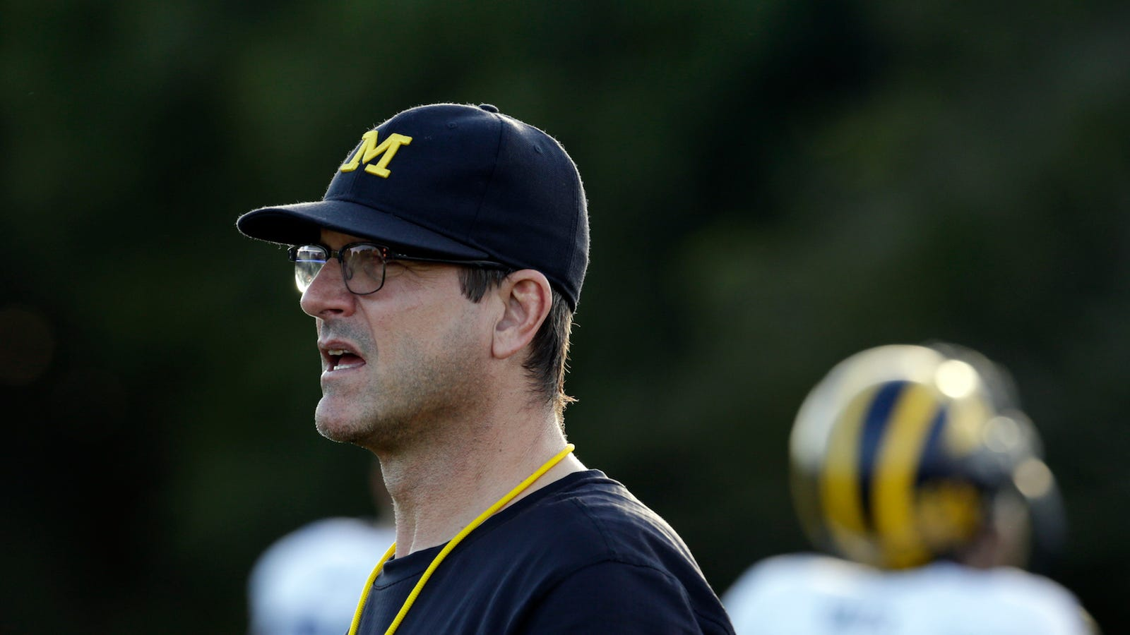 unsurprisingly  jim harbaugh is a hardass when it comes to