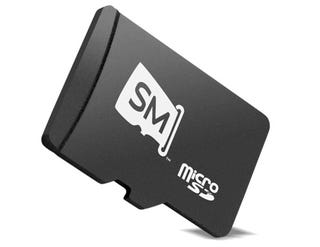 Illustration for article titled Sandisk Replaces CDs With SlotMusic MicroSDs With Big-Name MP3 Albums Aboard