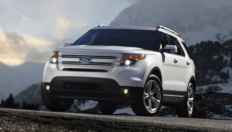 Illustration for article titled 2011 Ford Explorer: This Is Not An SUV