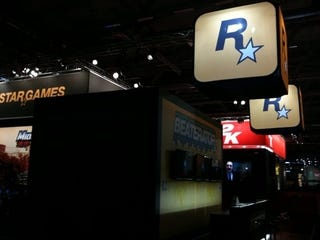 Illustration for article titled Gamescom Booth Blitz: Take-Two (+ 2K, Rockstar)