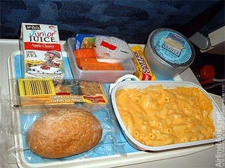 Illustration for article titled Airlines Fight Over Who Can Offer the Least Disgusting Food