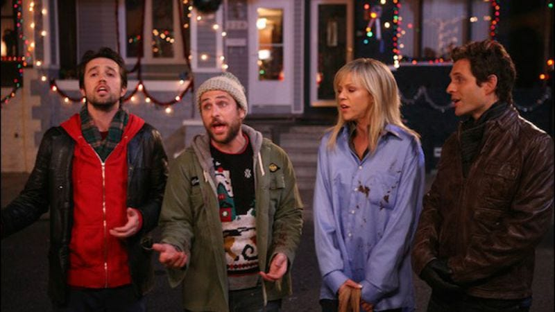 "Illustration for article titled It's Always Sunny In Philadelphia: ""A Very Sunny Christmas"""