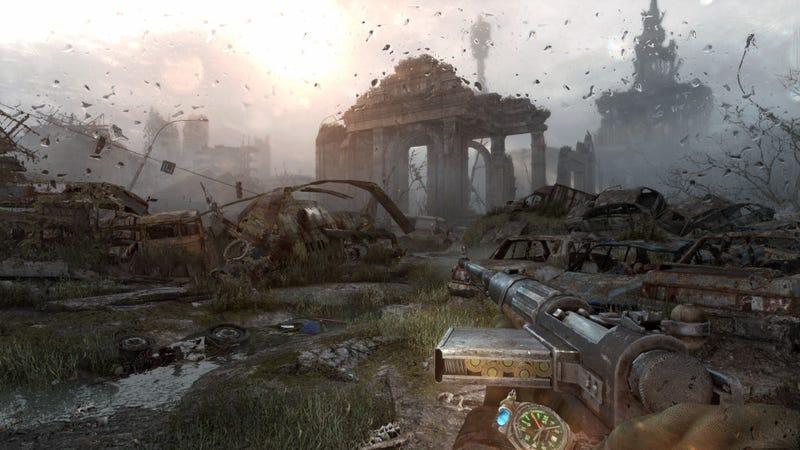 Illustration for article titled How Metro: Last Light Flipped The Script On Players