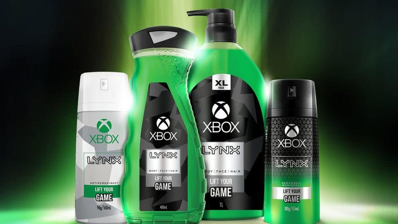 Illustration for article titled Congratulations, gamers: Xbox is now body wash