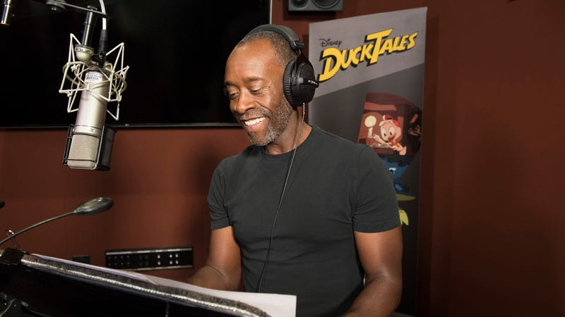 Don Cheadle providing the voice of Donald Duck on Ducktales, woo-ooh.
