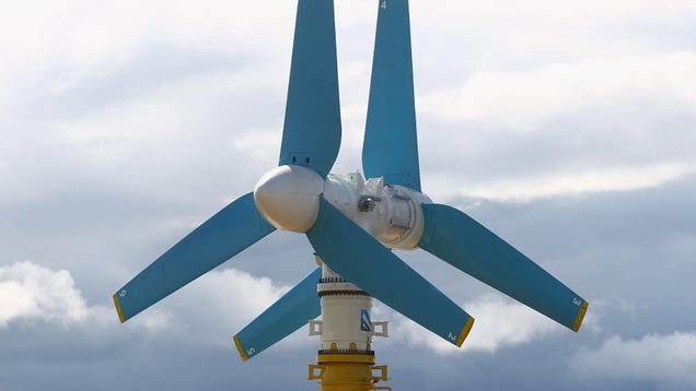 World s Most Powerful  Tidal Turbine Starts Cranking Out Energy