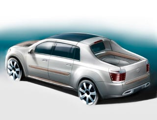 Illustration for article titled LUV That Pickup: Edag Prepares Truckish Concept for Geneva
