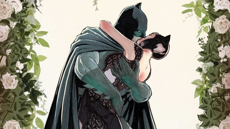 Illustration for article titled The New York Times just spoiled Batman's wedding