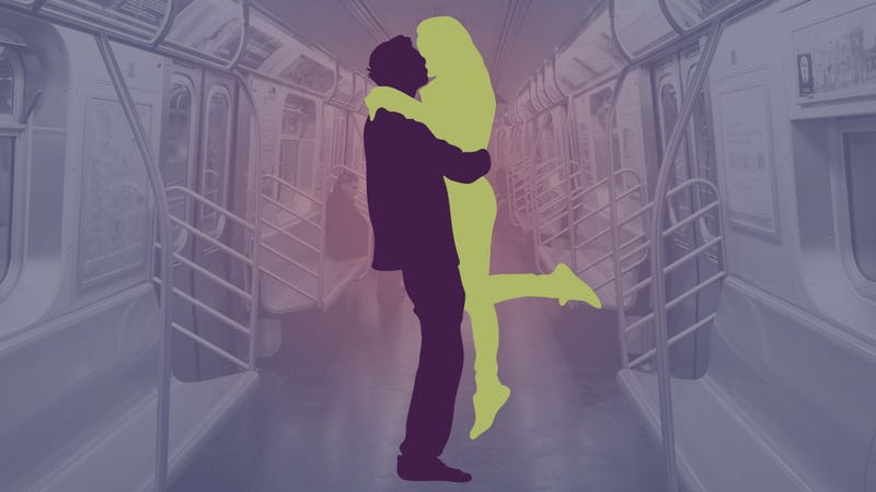Illustration for article titled Rude PDA on the Subway, Ranked from RUDE to VERY RUDE