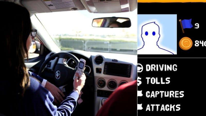 Illustration for article titled Game Designed To Prevent Distracted Driving Is Extremely Distracting