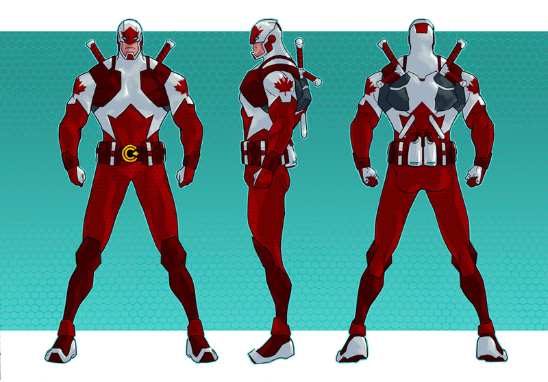 Illustration for article titled Captain Canuck returns... with help from Dyson, Vex, Supergirl and Sarah Manning? Happy Canada Day!