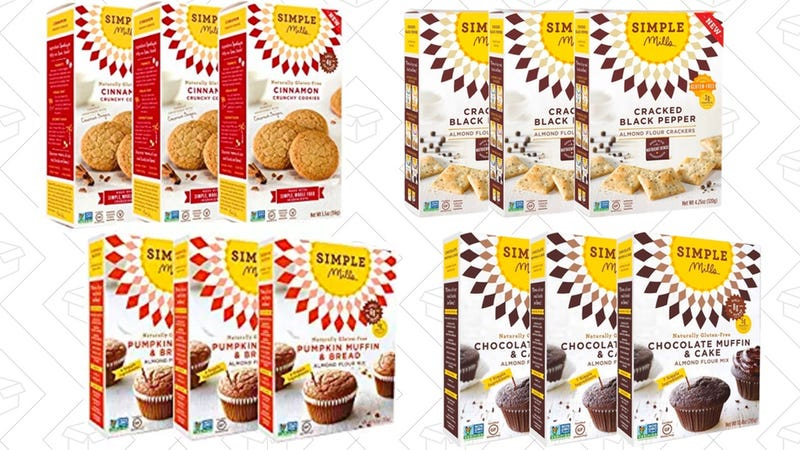 Simple Mills Gluten-Free Snacks | Amazon | Save 20% When You Subscribe & Save