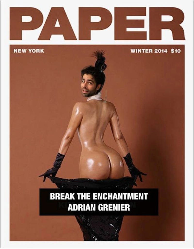 Illustration for article titled Ass Wars Escalate as Adrien Grenier Posts His Own Butt Pic