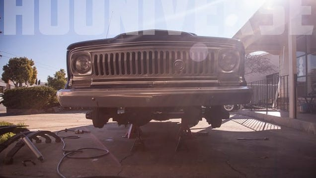 Hooniverse garage 1969 jeep wagoneer suspension swap for Garage jeep nimes