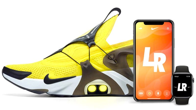 Illustration for article titled You Can Now Tell Siri to Tighten Your Nike Self-Lacing Sneakers