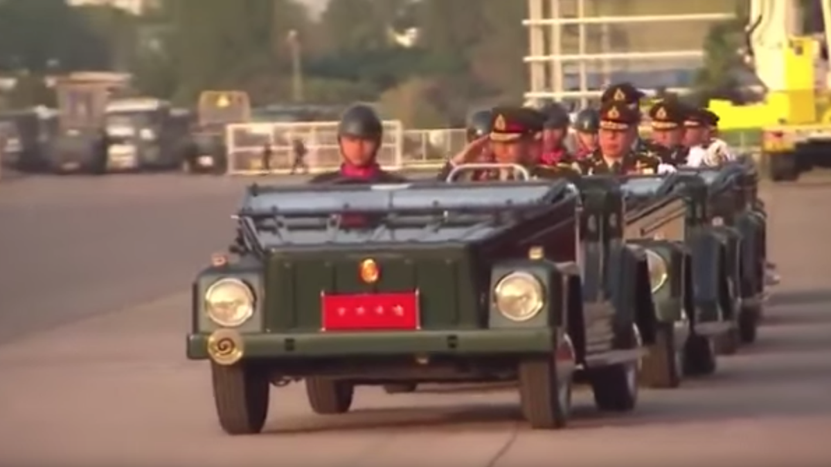 Holy Crap The Thai Military Still Uses Volkswagen Things