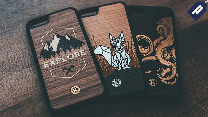 Illustration for article titled Save 15% And Protect Your iPhone With Creative, Wooden Cases From Keyway (From $20)